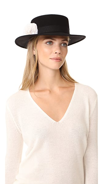 Eugenia Kim Brigitte Hat - Black