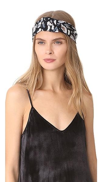 Eugenia Kim Natalia Headband - Black/Grey