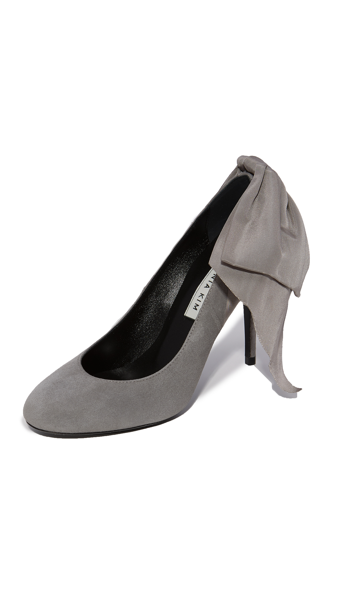 Eugenia Kim Elsa Bow Pumps - Light Gray