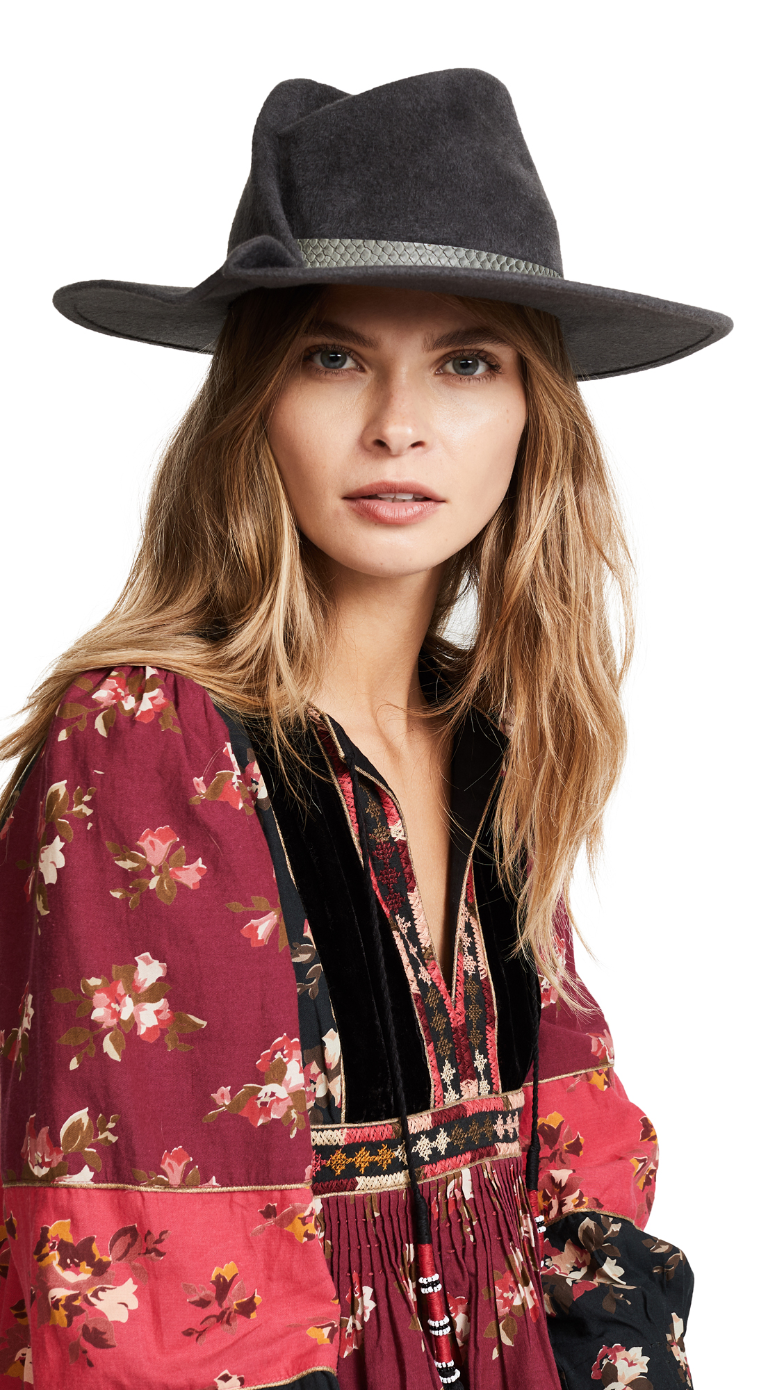 Eugenia Kim Giovanna Hat - Grey