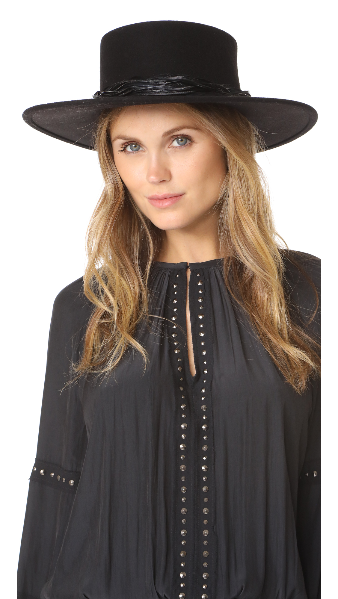 Eugenia Kim Agata Hat - Black