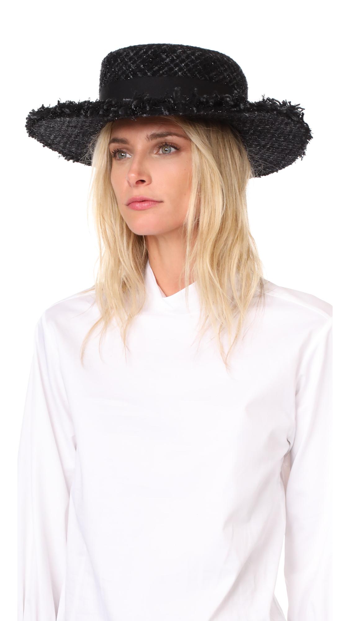 Eugenia Kim Brigitte Hat - Black