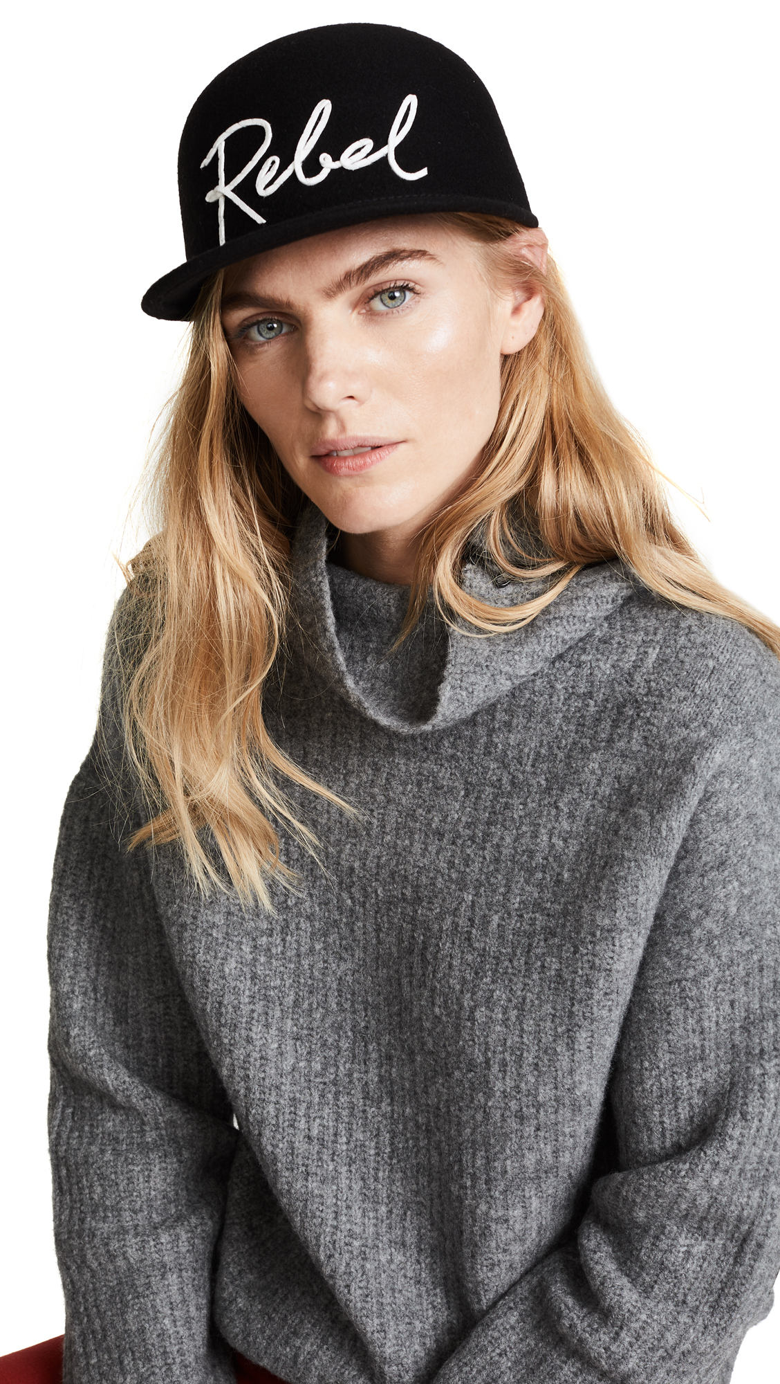 Eugenia Kim Bo Rebel Baseball Cap - Black