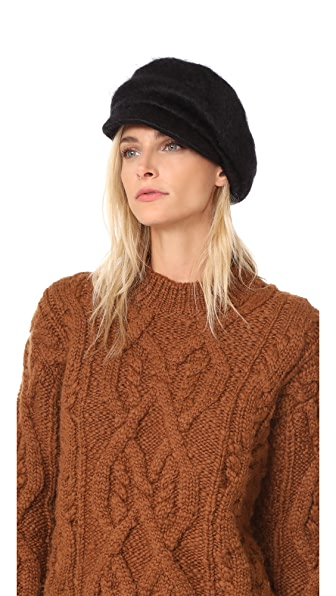 Eugenia Kim Carmella Hat - Black