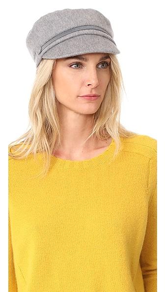 Eugenia Kim Elyse Cashmere Cap - Grey