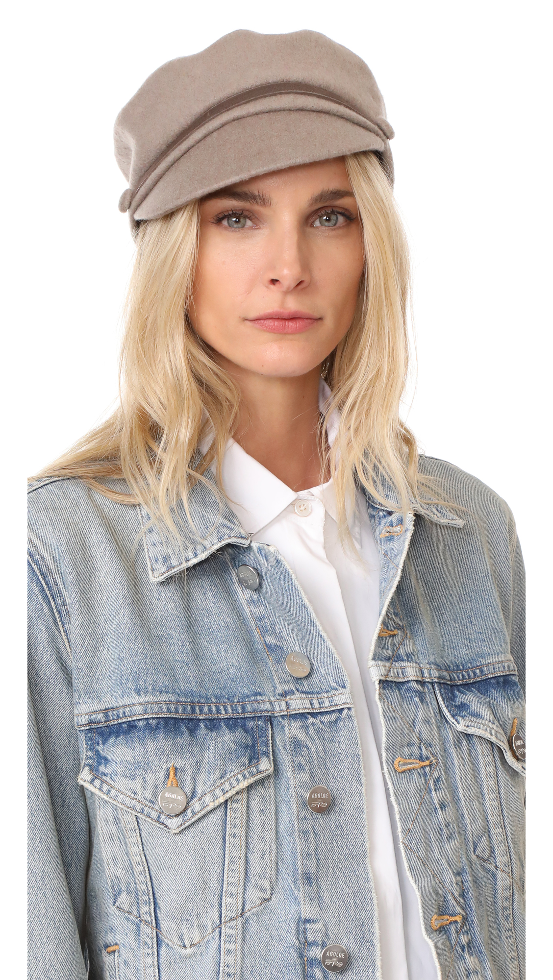 Eugenia Kim Elyse Cashmere Cap - Mink
