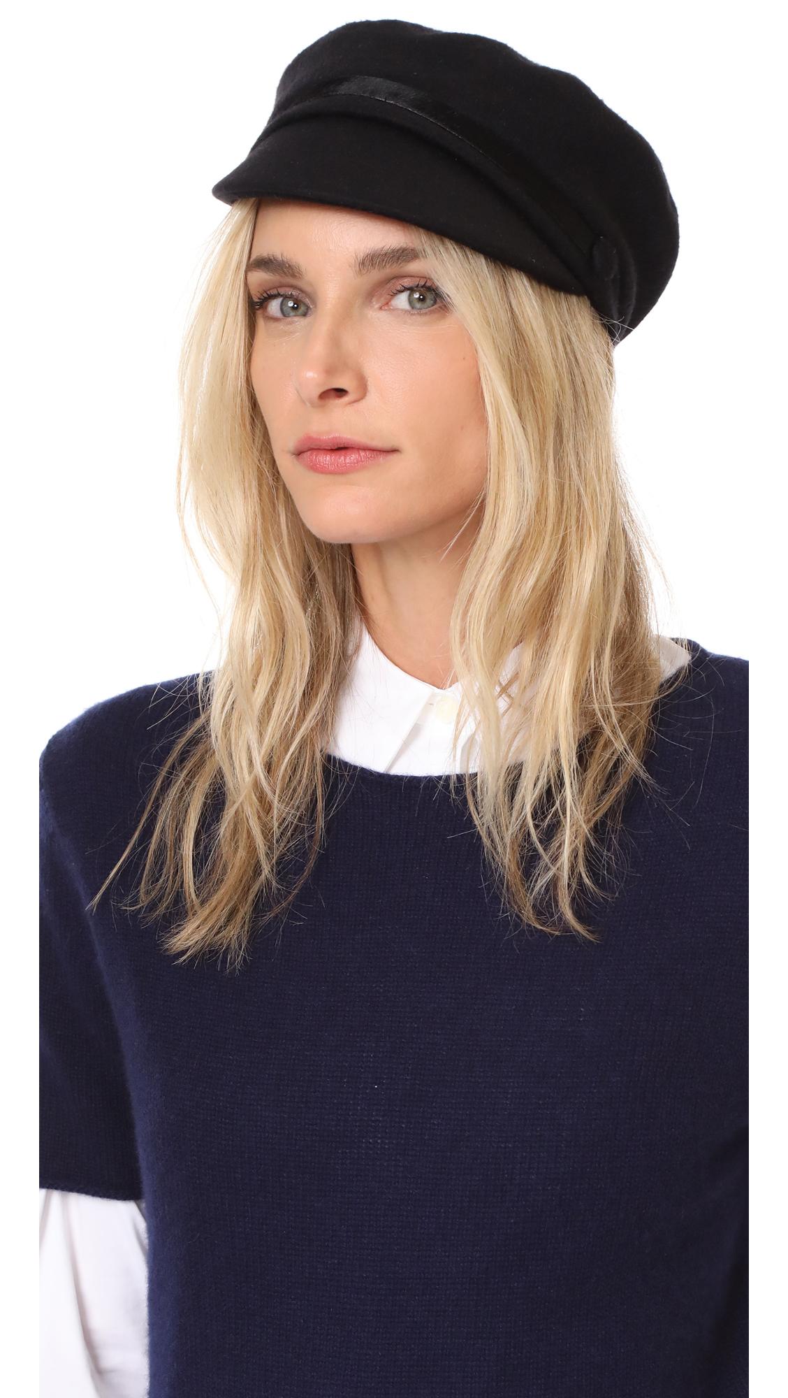 Eugenia Kim Elyse Cashmere Cap - Black