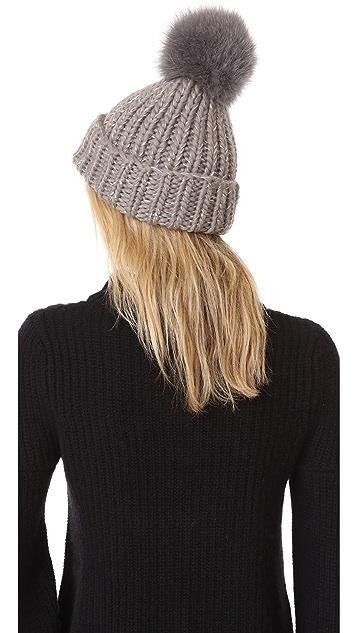 Eugenia Kim Rain Pom Pom Beanie Hat