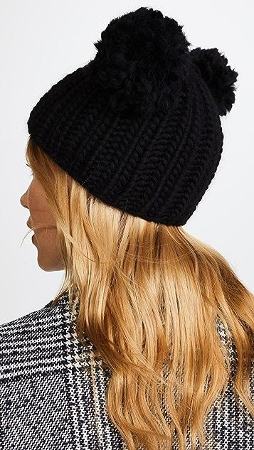 Eugenia Kim Mimi Pom Beanie Hat
