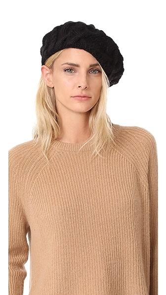 Eugenia Kim Jamie Beret Hat - Black