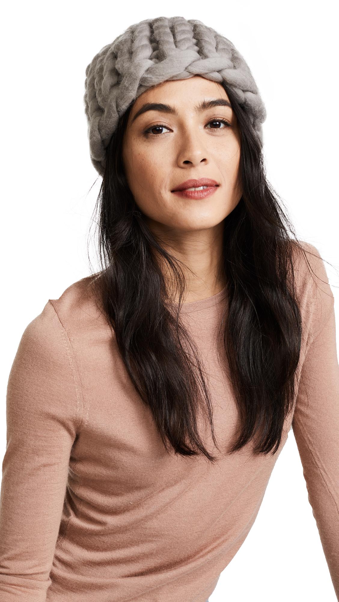 Eugenia Kim Siggy Beanie Hat - Taupe