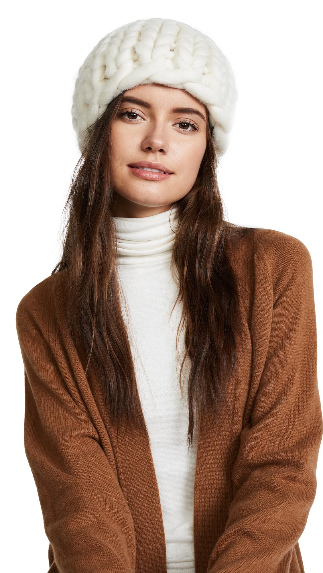 Eugenia Kim Siggy Beanie Hat - Cream