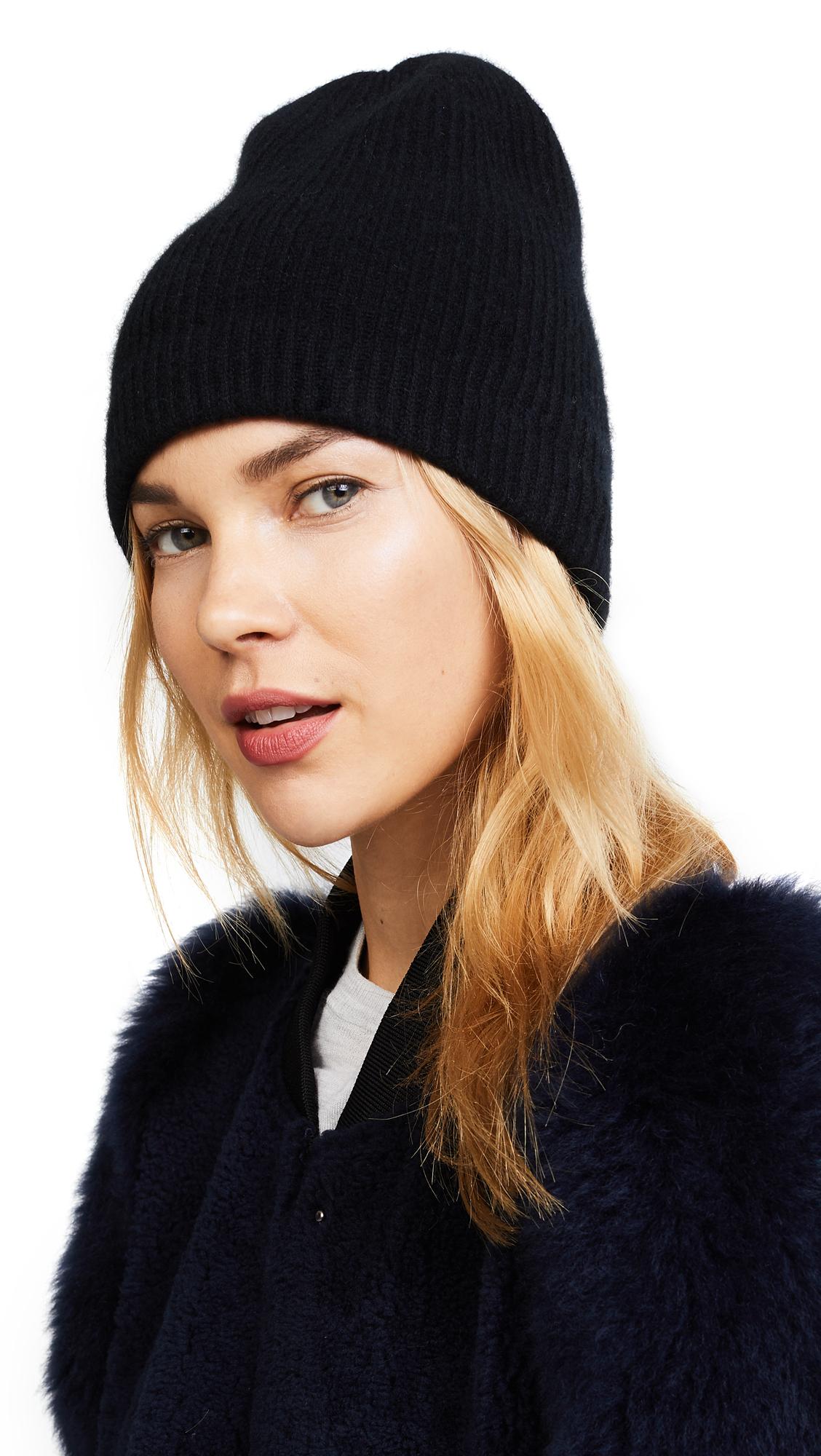 Eugenia Kim London Cashmere Hat - Black