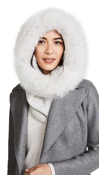 Eugenia Kim Paulina Hood In Light Grey