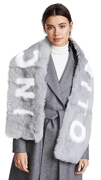 Eugenia Kim Colden INCOGNITO Fur Scarf at Shopbop