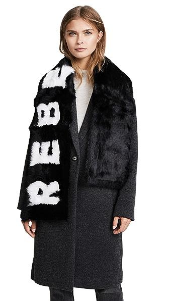 Eugenia Kim Colden REBEL Fur Scarf at Shopbop