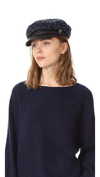 Eugenia Kim Genie Jessa Hat In Blue/Black