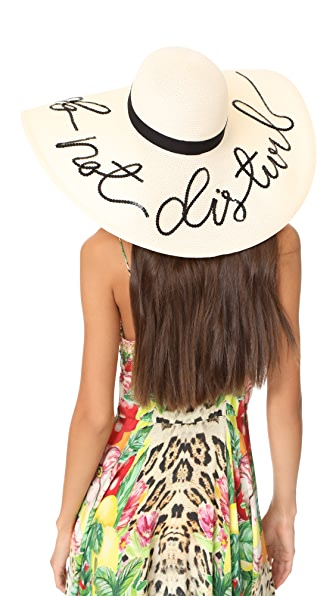 Eugenia Kim Sunny Do Not Disturb Sun Hat - Ivory
