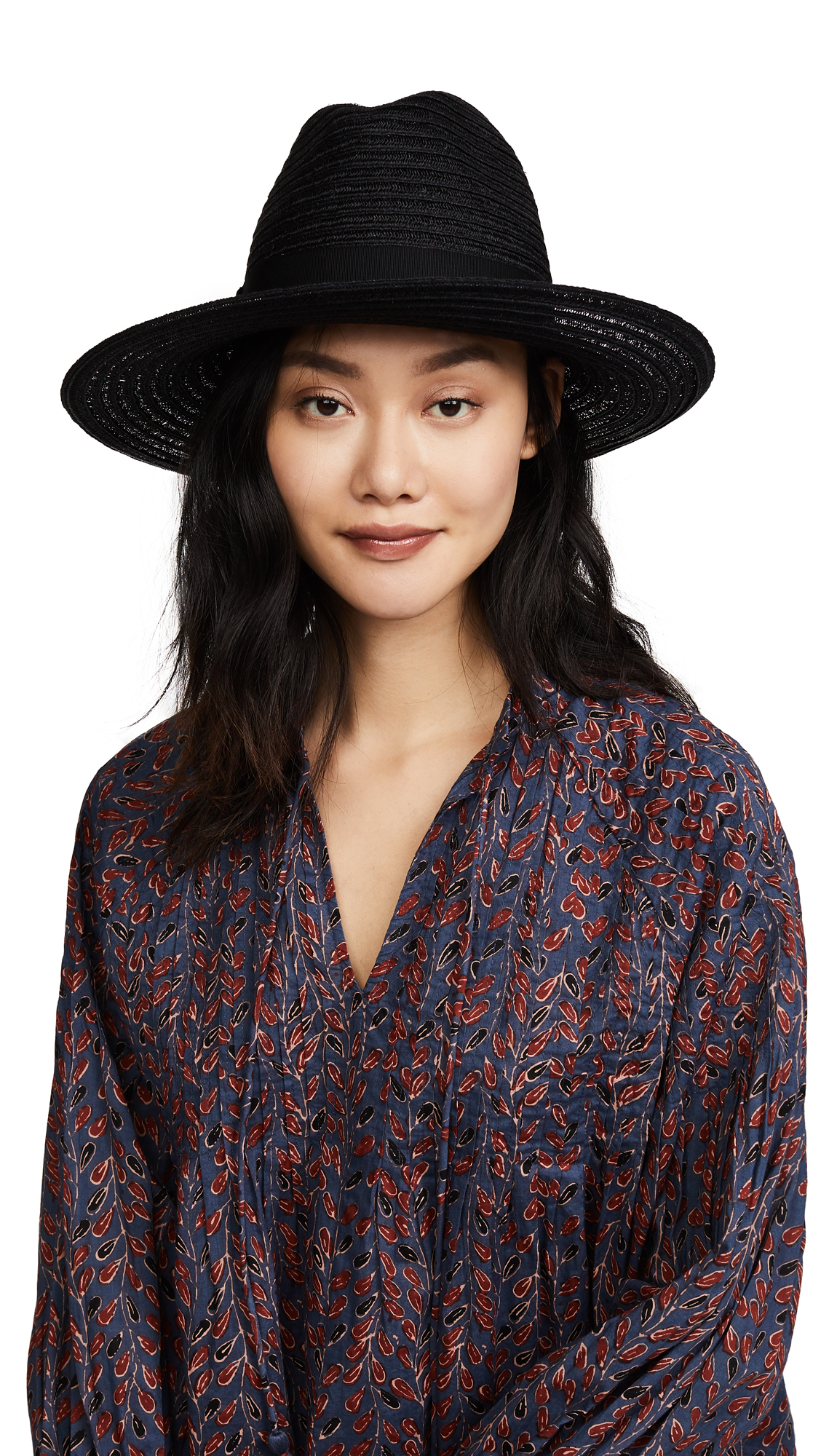 Eugenia Kim Dita Fedora Hat - Black