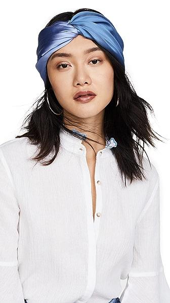 Eugenia Kim Malia Headband In Periwinkle/French Blue