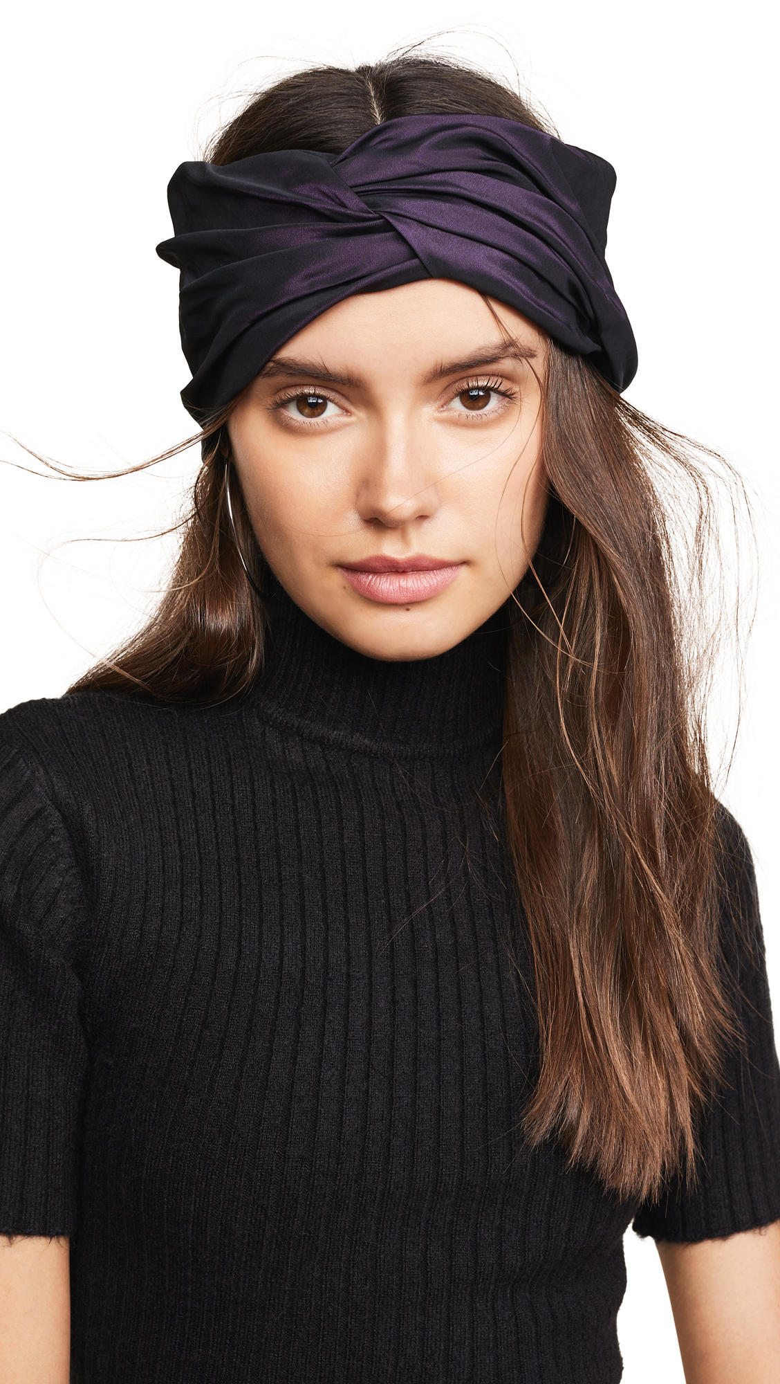 Malia Headband, Aubergine