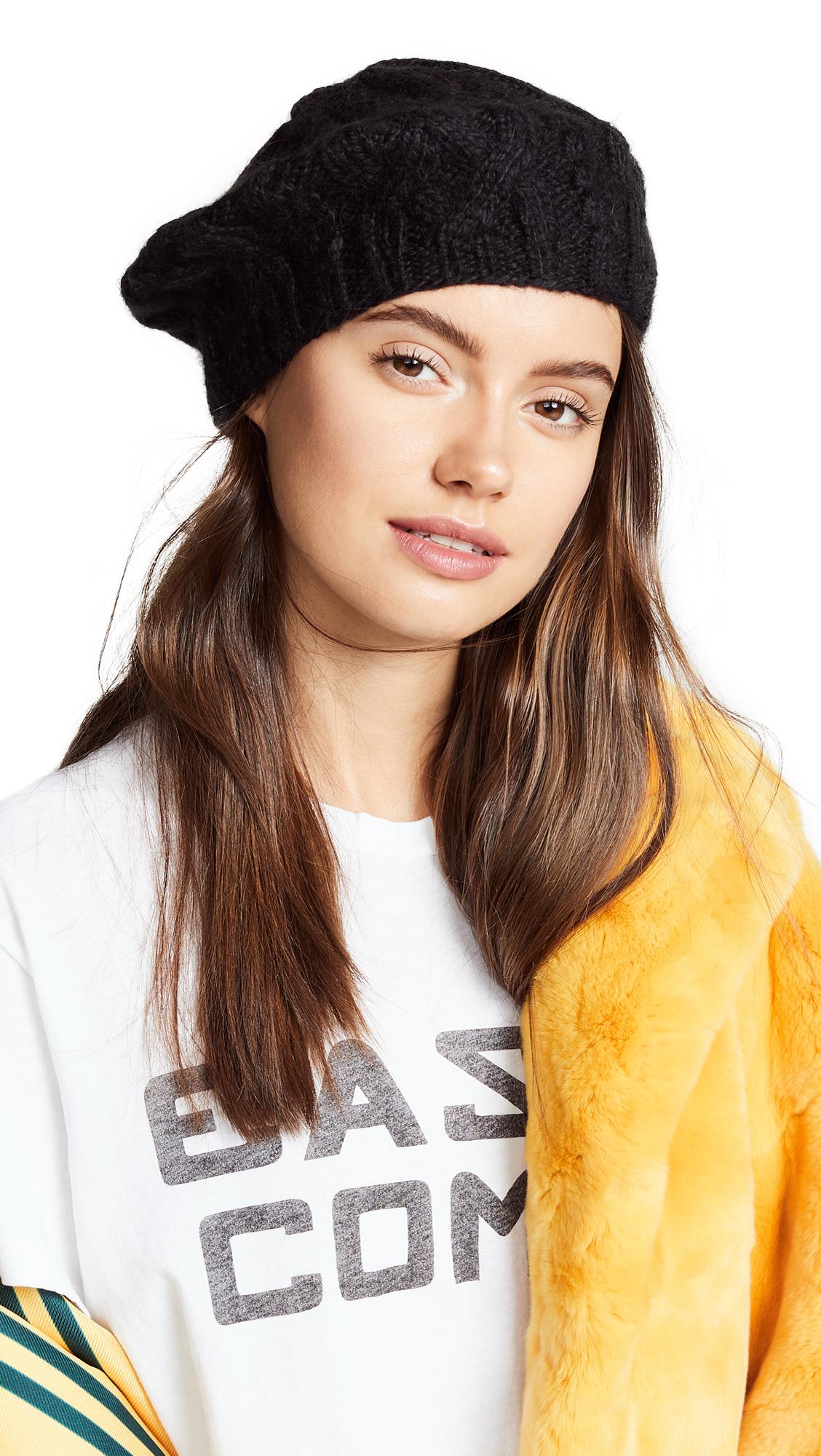 Eugenia Kim Jamie Beret Hat In Black  1a919af3c3d