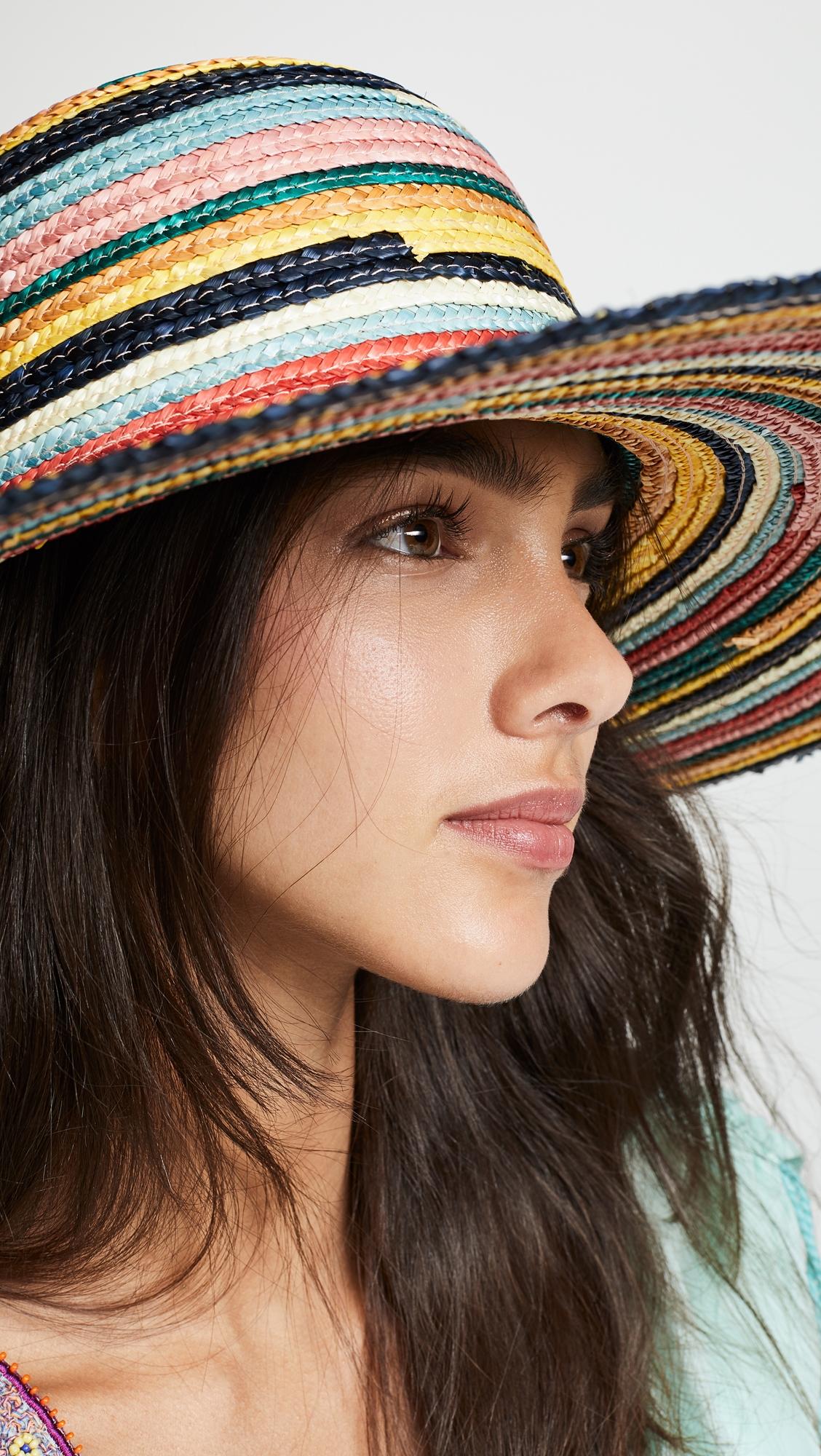 Купить Eugenia Kim Striped Bunny Hat