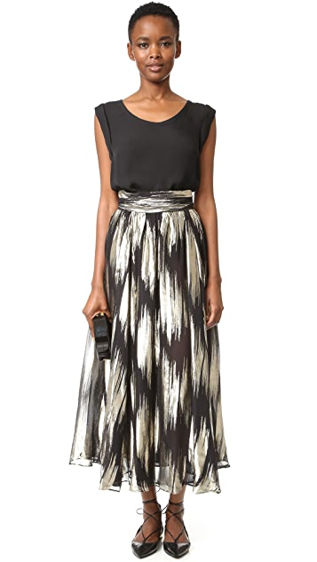 Emanuel Ungaro Pleated Skirt
