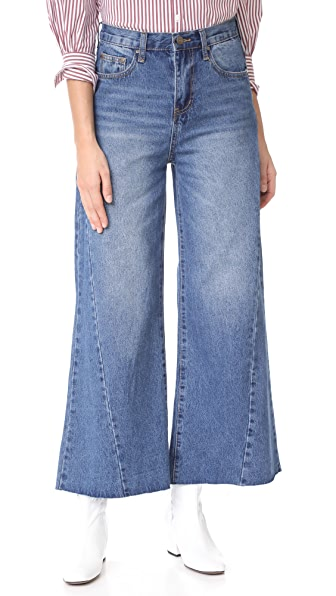 EVIDNT Wide Leg Jeans