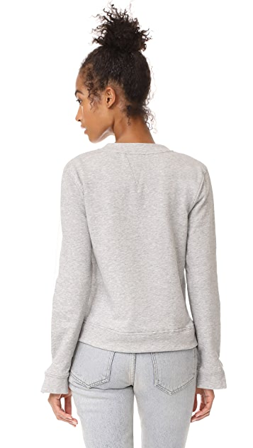 EVIDNT French Terry Colorblocked Sweatshirt