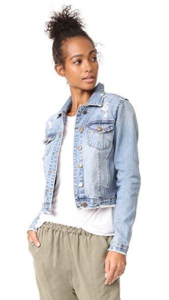 EVIDNT Frayed Denim Jacket