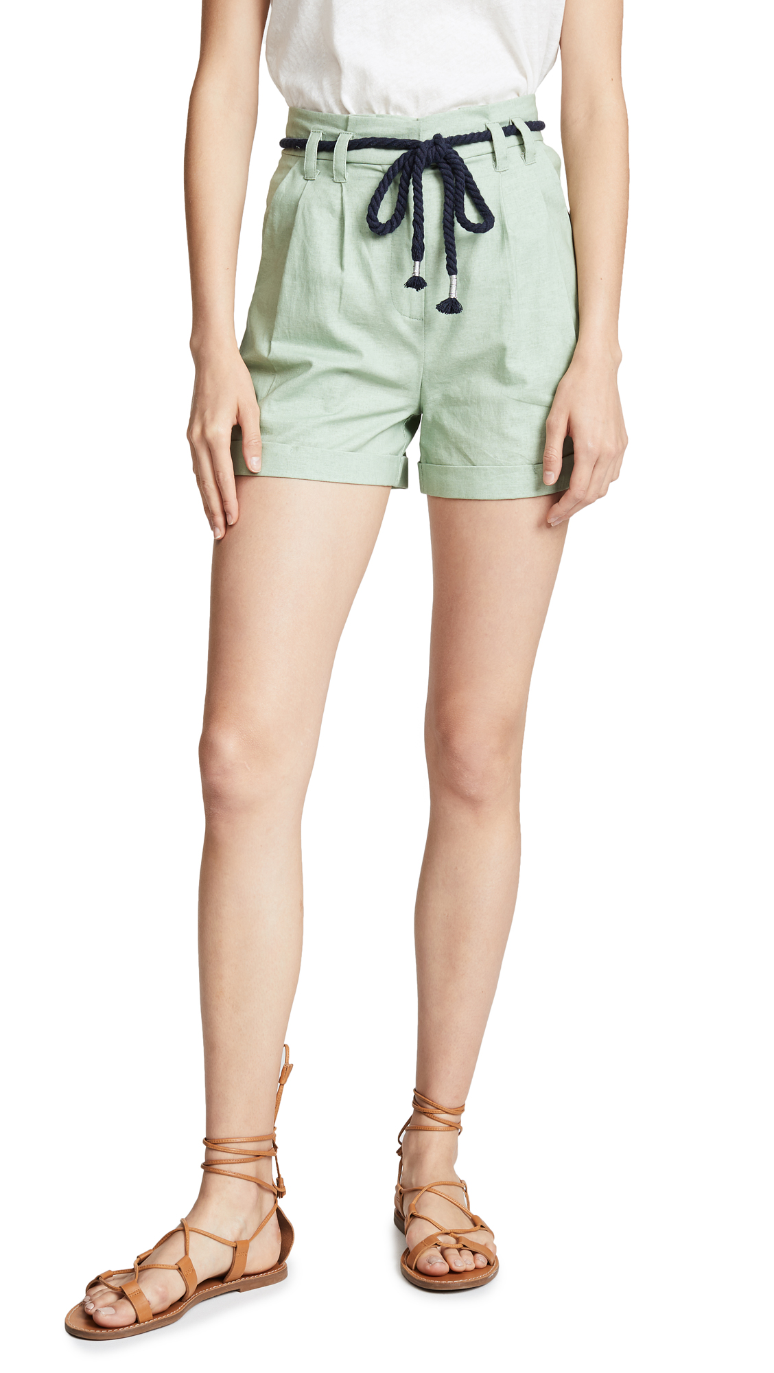 EVIDNT Trouser Shorts In Mint