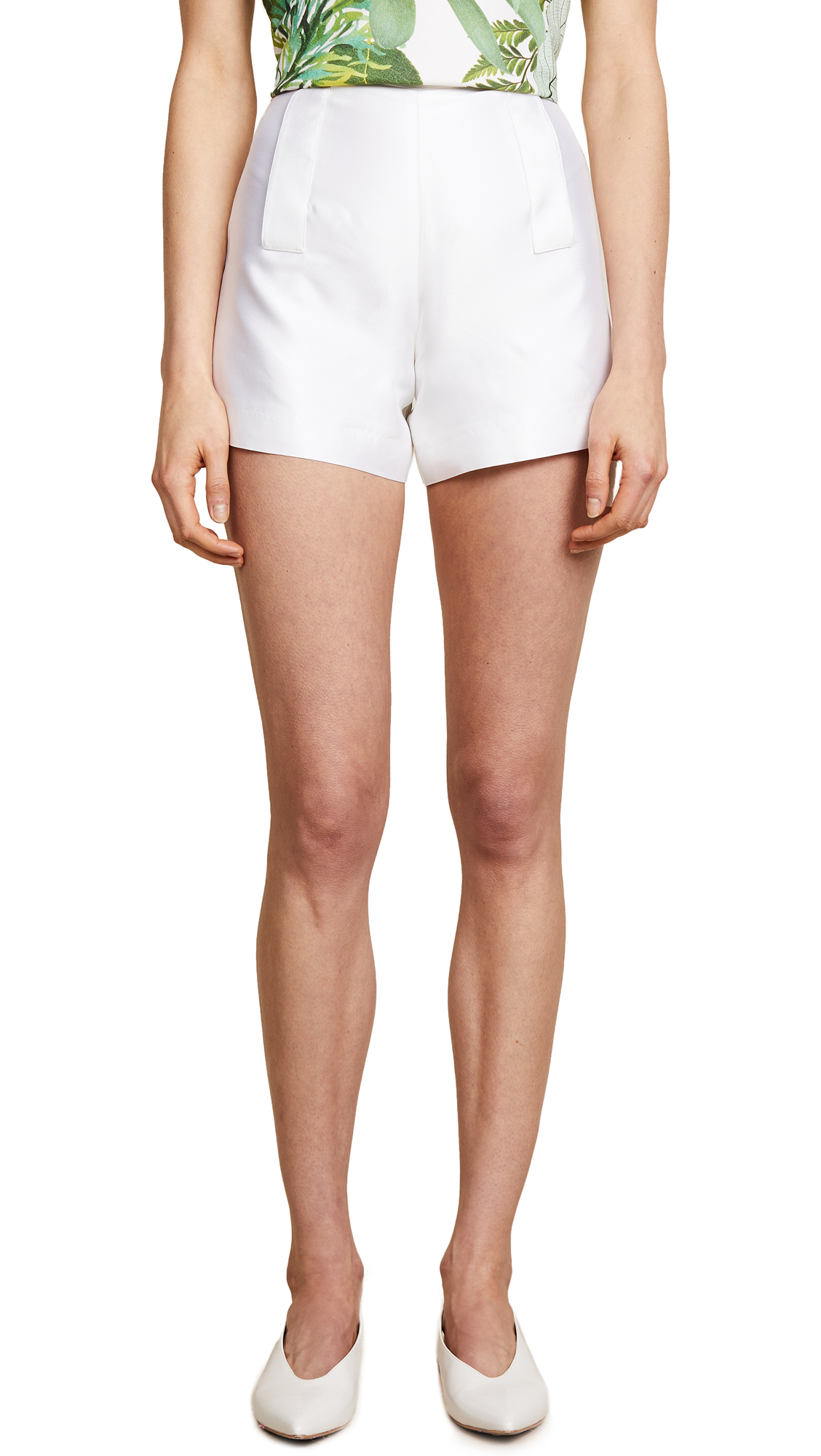 Ewa Herzog Silk Shorts