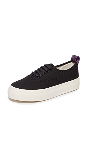 Eytys Mother Canvas Sneakers In Black