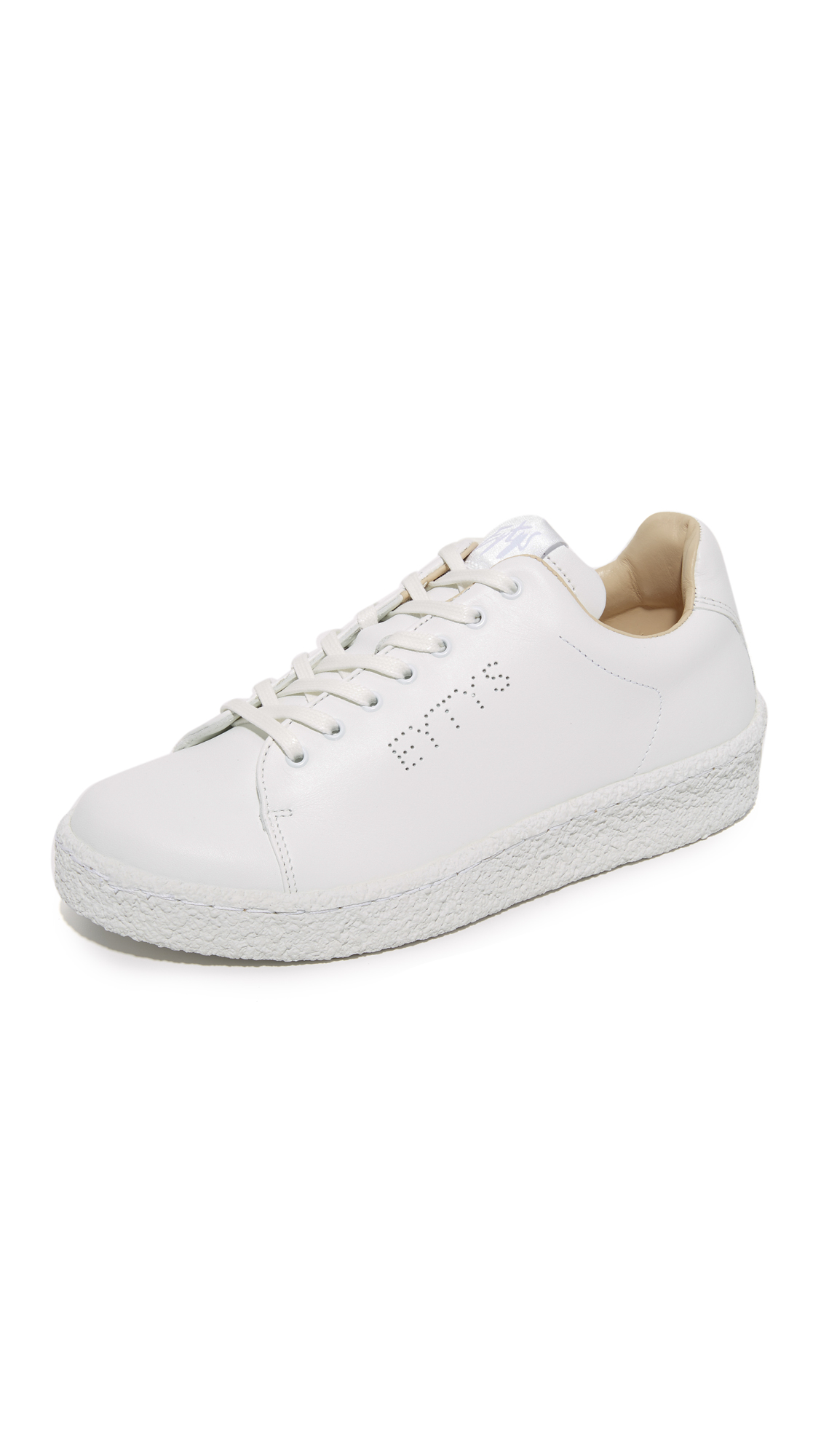 Eytys Ace Leather Sneakers - White