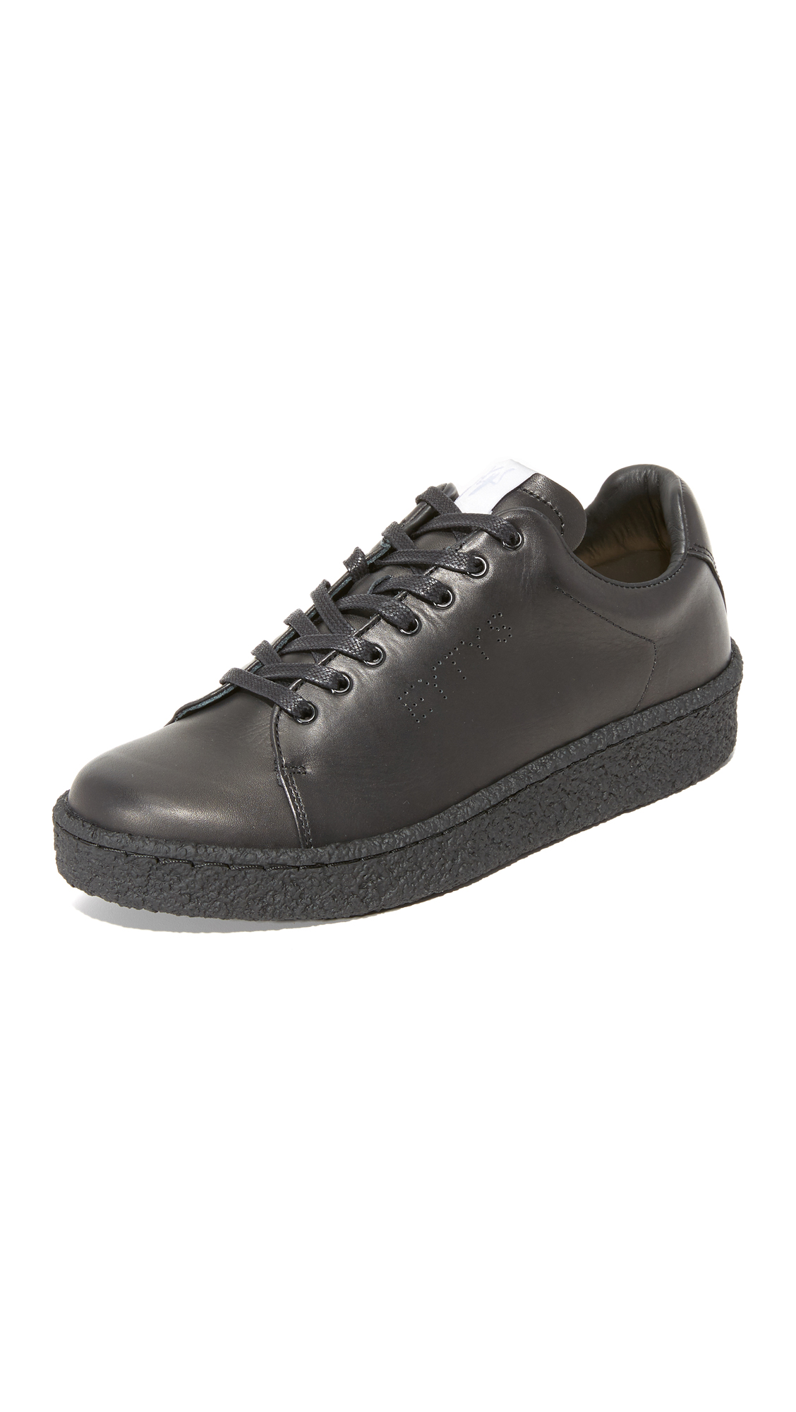 Eytys Ace Leather Sneakers - Black