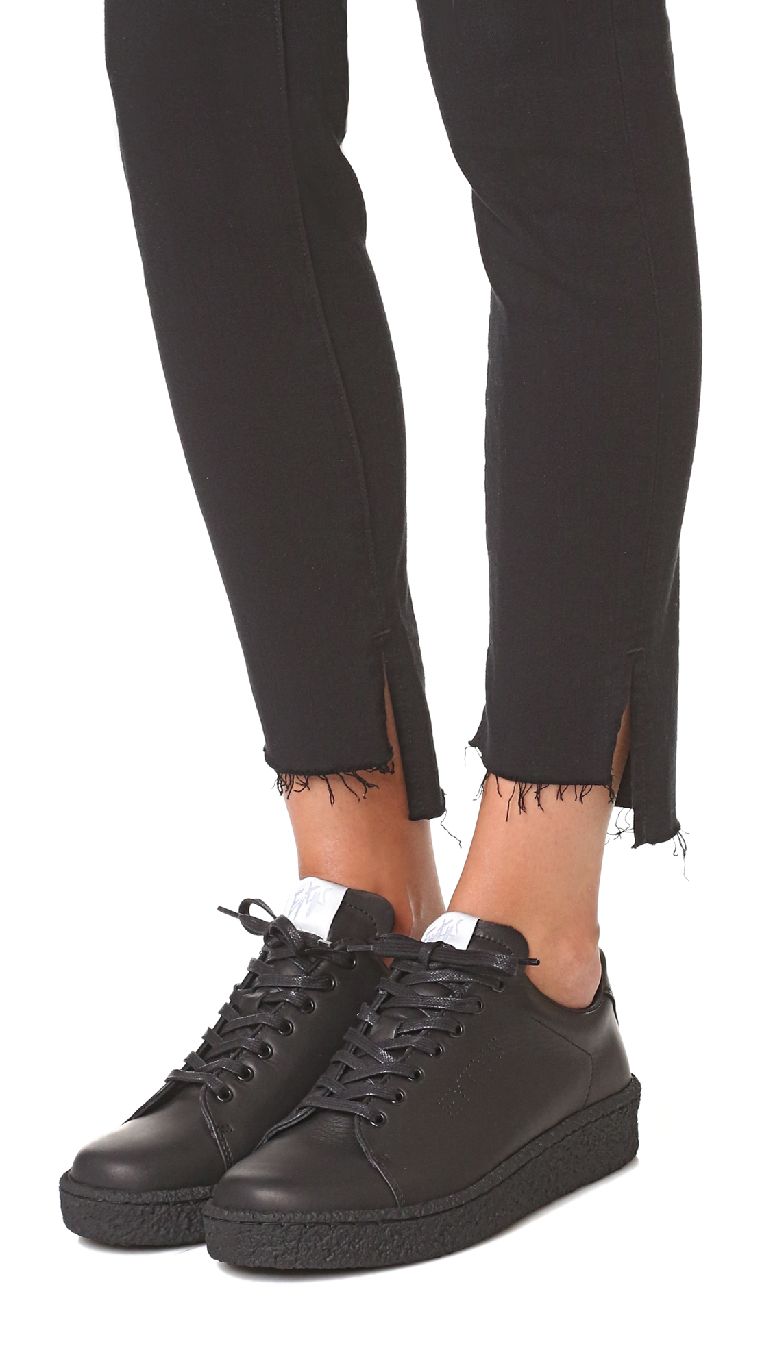 Black Leather Ace Trainers Eytys bGVKkHFVN