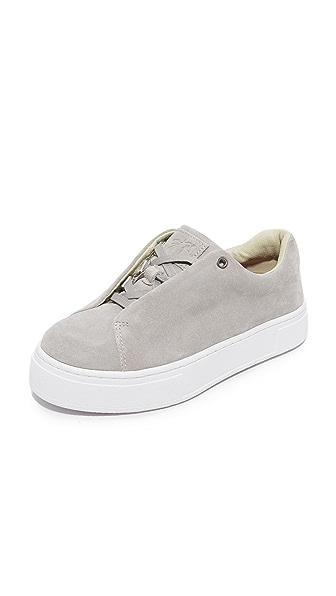 Eytys Doja Suede Sneakers - Grey