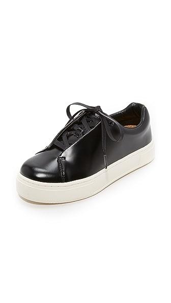 Eytys Doja Leather Sneakers - Black