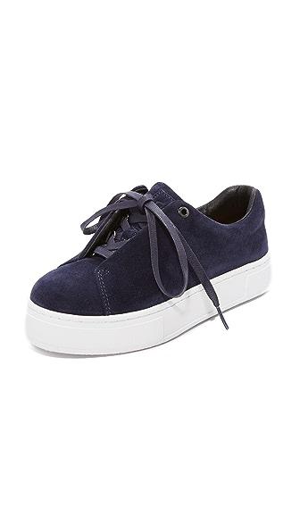 Eytys Doja Suede Sneakers In Midnight
