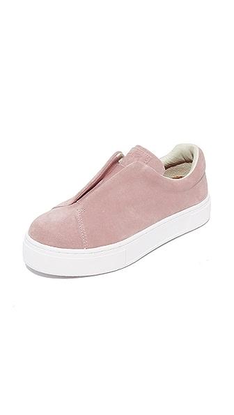 Eytys Doja Suede Sneakers - Blush