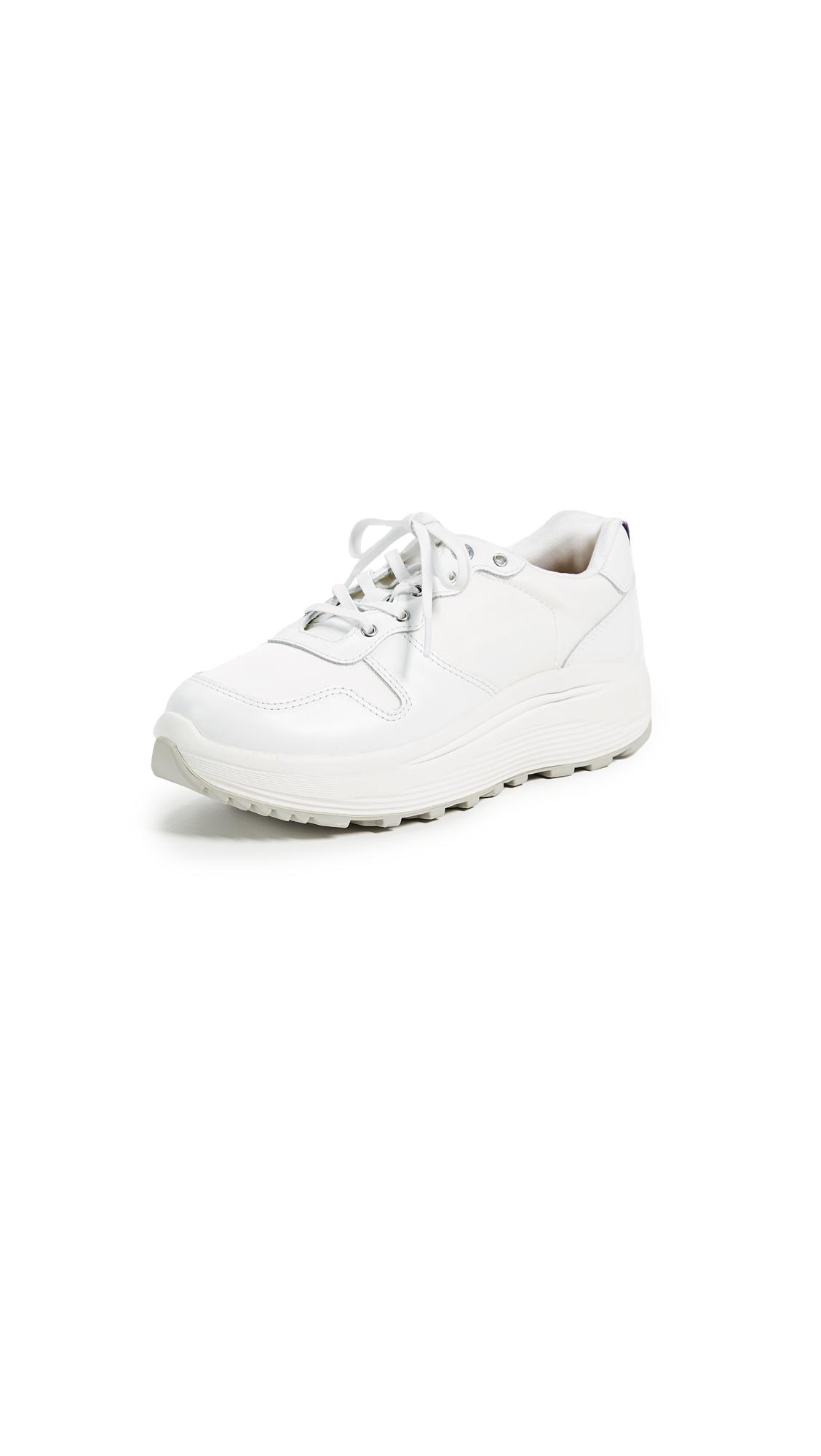 Eytys Jet Combo Sneakers - White