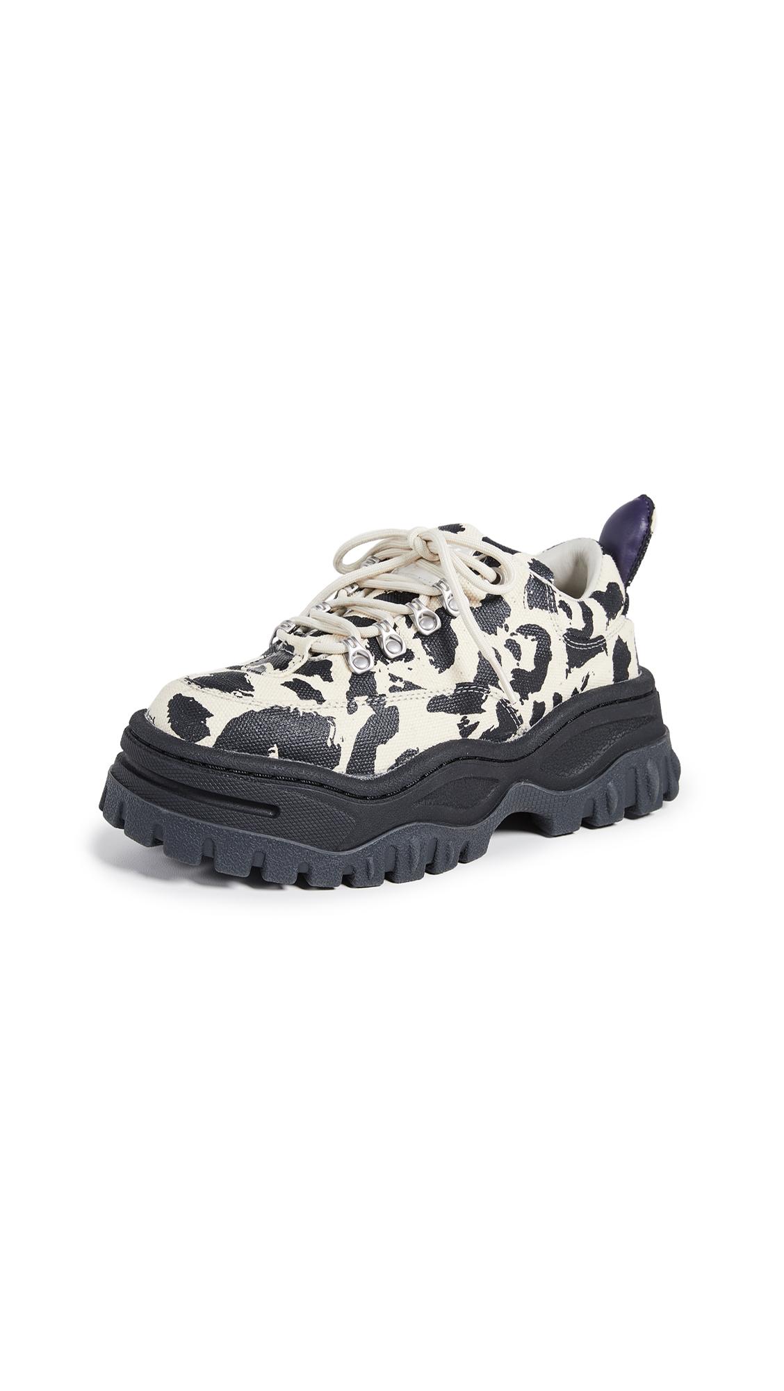 Eytys Angel Print Sneakers - Serengeti