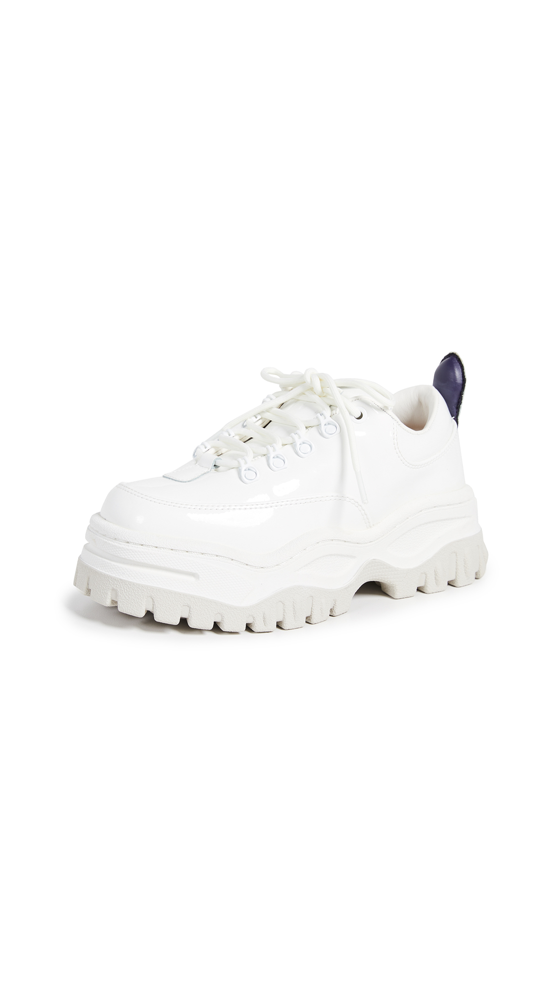 Eytys Angel Patent Sneakers - White