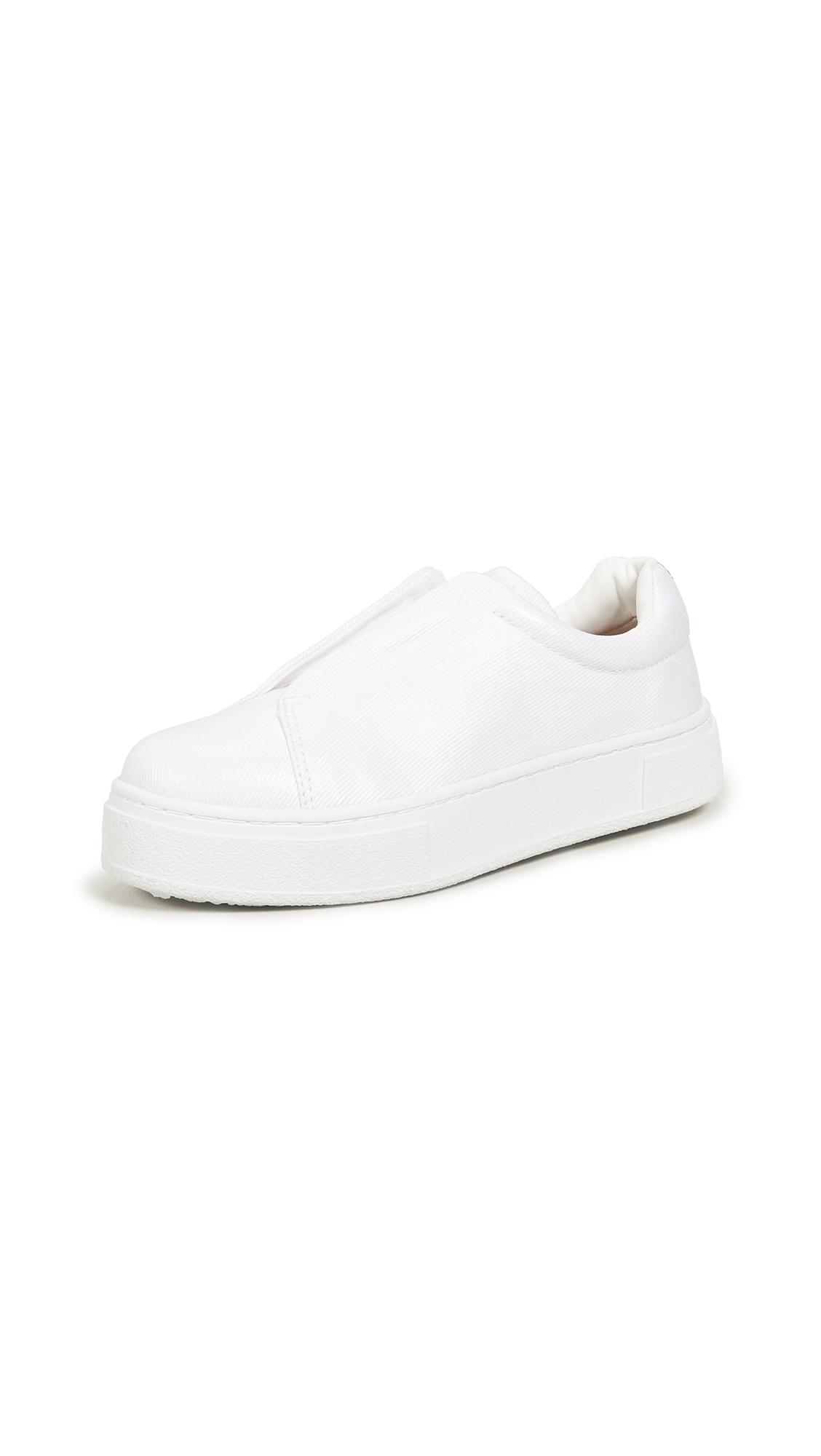 Buy Eytys online - photo of Eytys Doja S-O Coated Sneakers