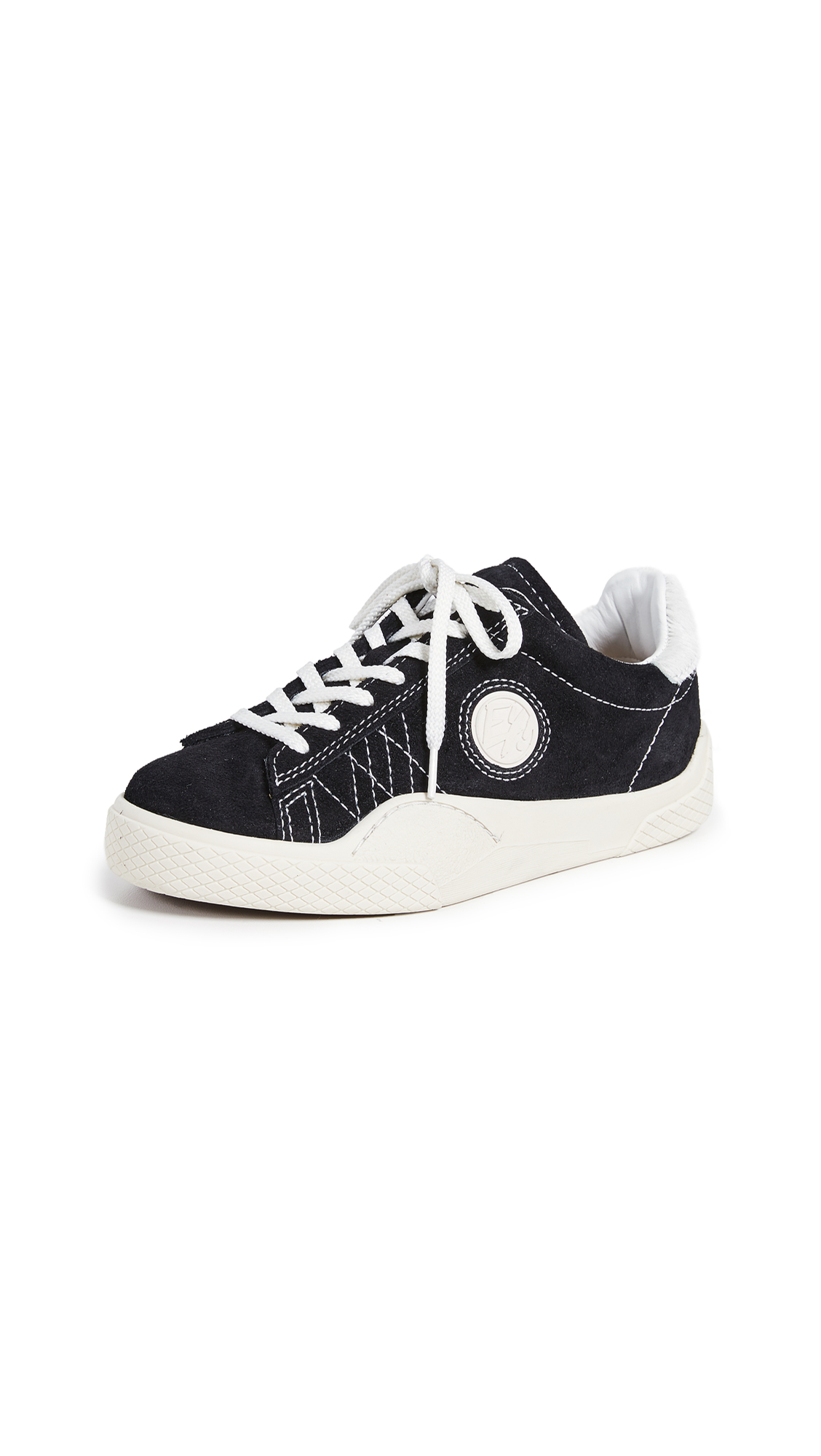 Eytys Wave Suede Sneakers - Black