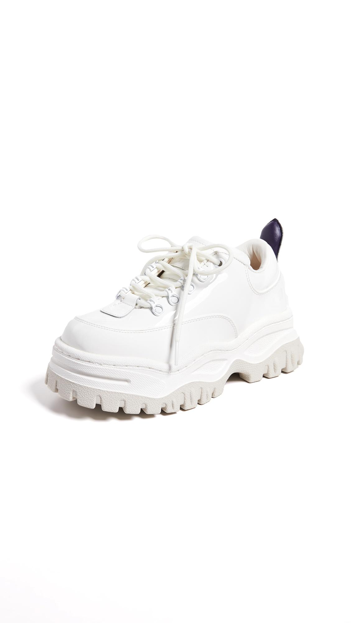 Eytys Angel Sneakers - White