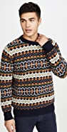 Far Afield Fair Isle Knit Sweater