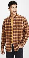 Far Afield Larry Long Sleeve Button Down Plaid Shirt