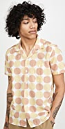 Far Afield Selleck Linen Short Sleeve Shirt